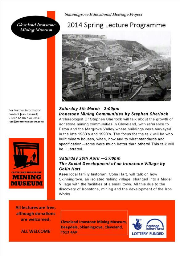 Spring Lecture Programme 2014