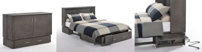 Driftwood Queen Cabinet Bed Complete Beds See More About