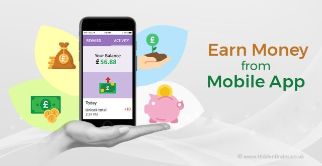 Image result for Mobile App with money
