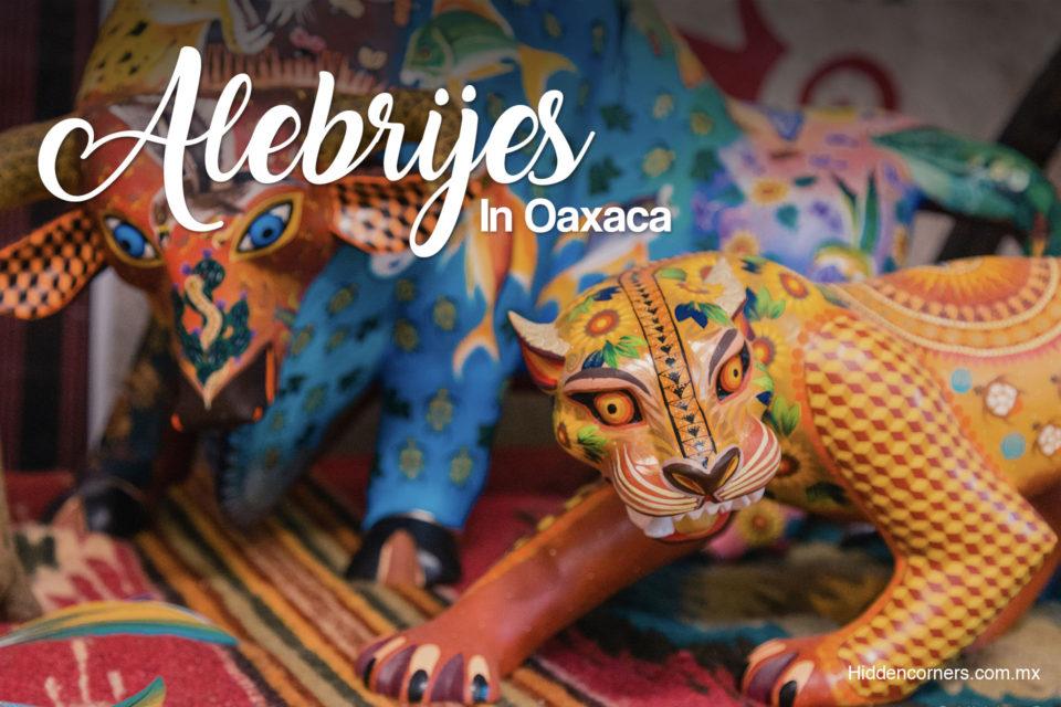 Set #1 Oaxaca Mexico 5 MINI ALEBRIJE WOOD CARVINGS Handmade Animal Figurines