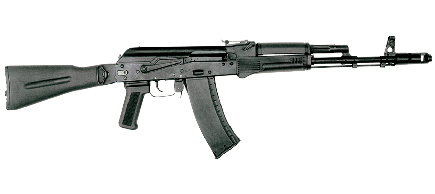 The AK-74M became the official infantry weapon of all Russian military branches in 1991, and continues to serve today.
