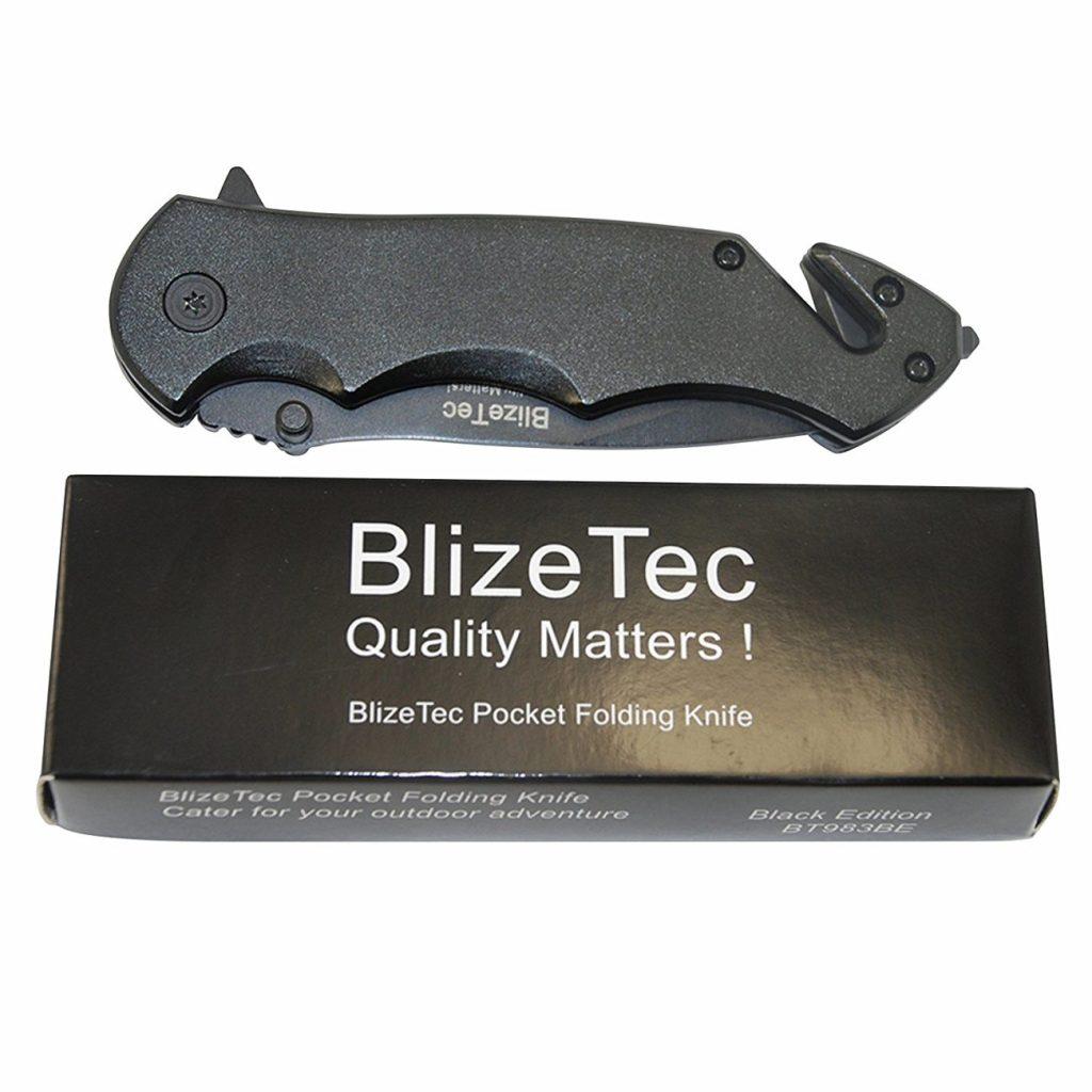 best survival knives for the oudoors BlizeTec