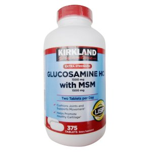 glucosamine supplement workout