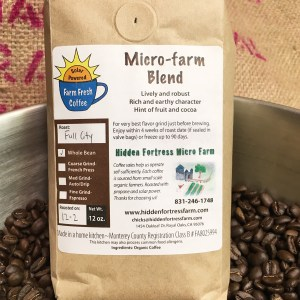 Hidden Fortress Coffee Roasting Microfarm Blend