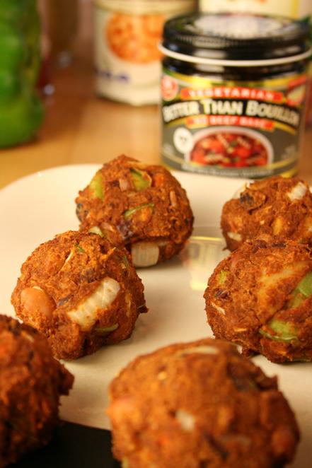 chili-meatball-rows
