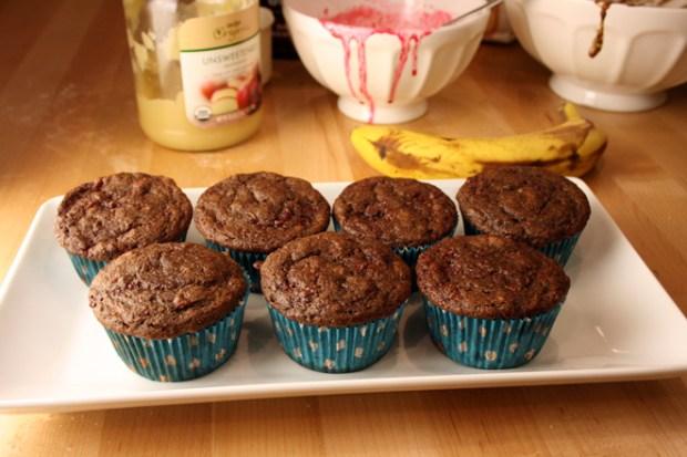 choco-raspberry-muffin-plate