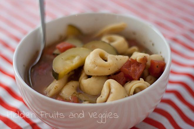 Tortellini Zucchini Soup