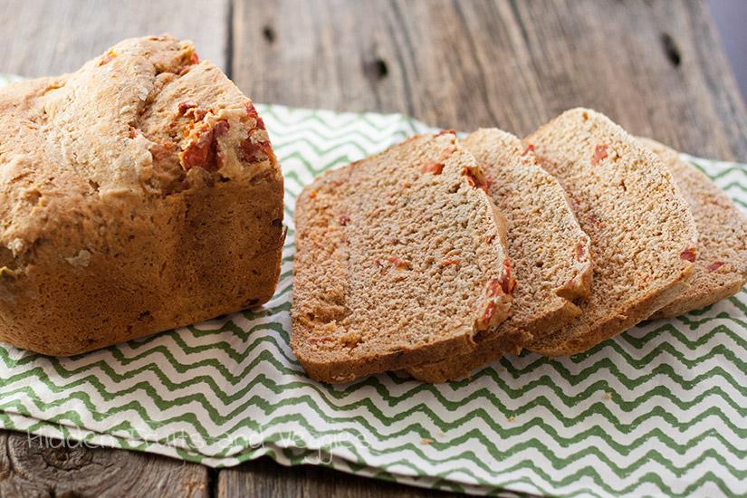 Sun dried Tomato Bread (Whole Wheat)