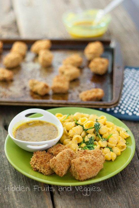 Tempeh Chicken Nuggets