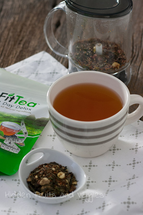 FitTea Detox Review @hiddenfruitnveg