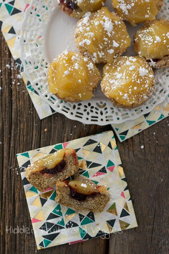 Lemon Cookie Tarts @hiddenfruitnveg