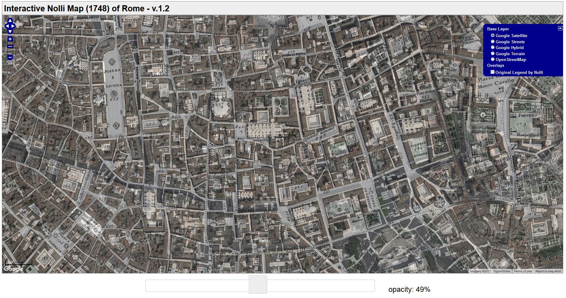 More Maps of Rome Hidden Hydrology