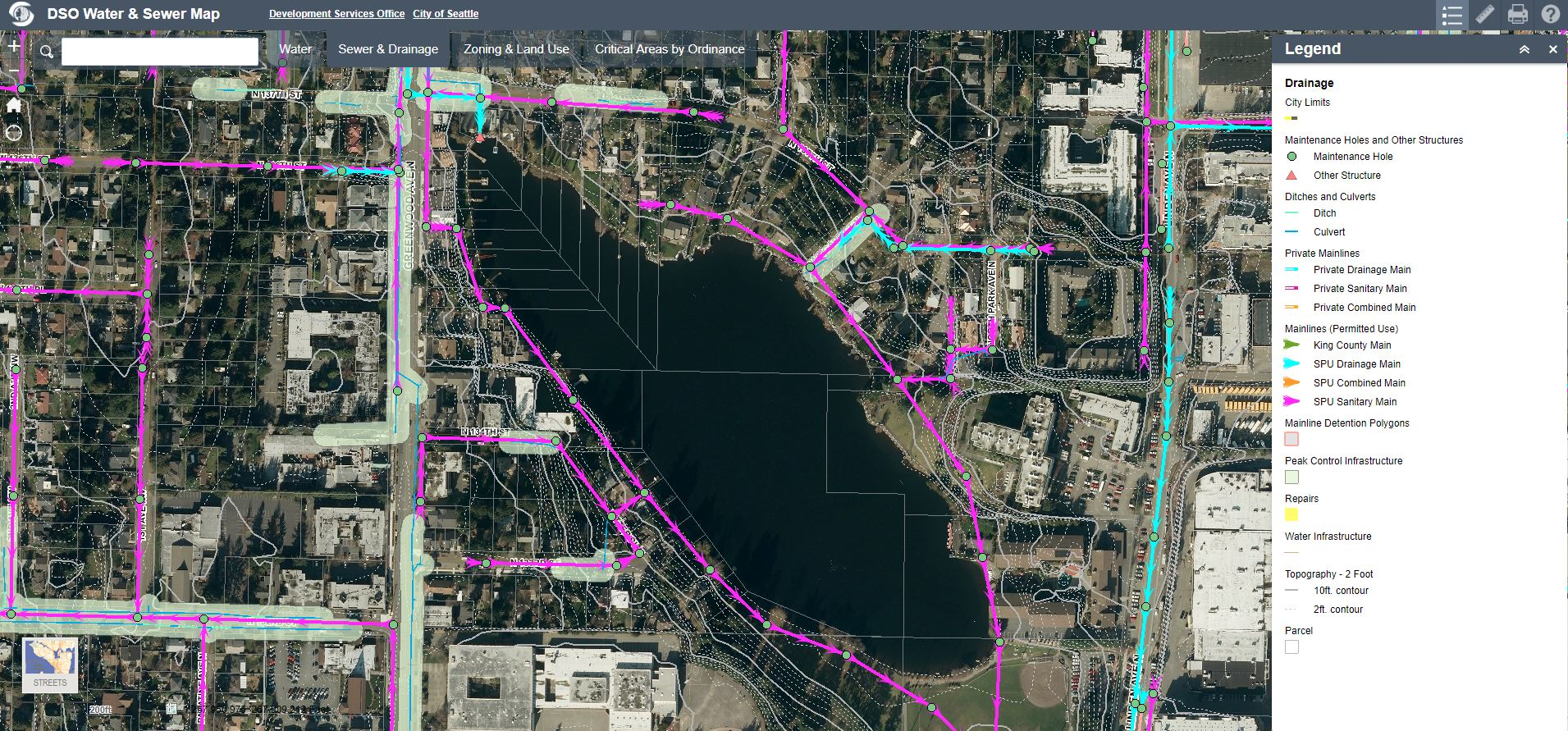 Draining Seattle Small Lakes – Hidden Hydrology