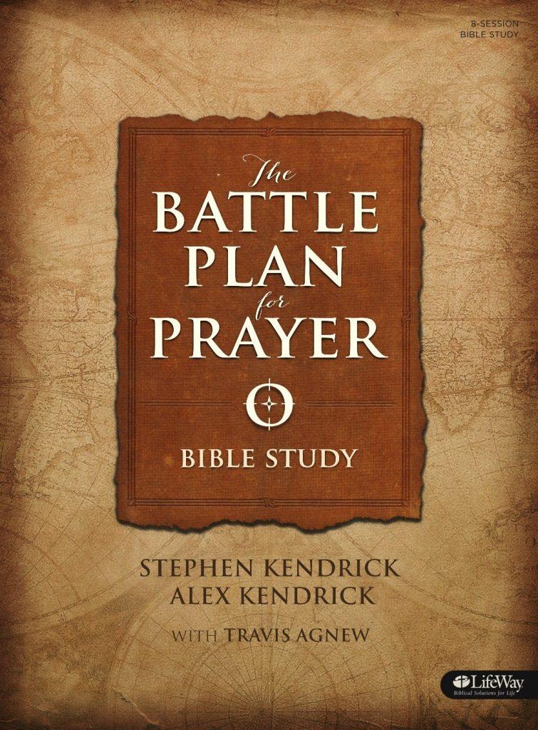 Battle plan of prayer book cover