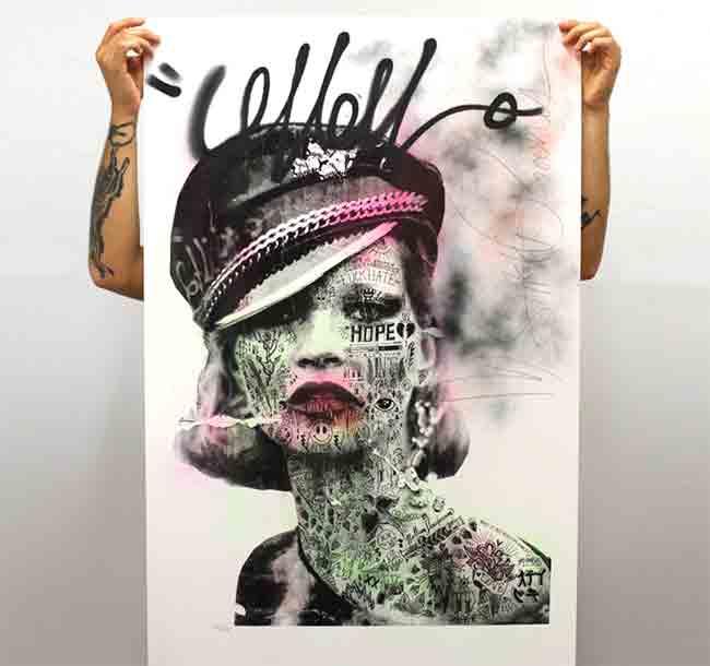 """""""La Mossa Nostra"""" print by Stikki Peaches"""