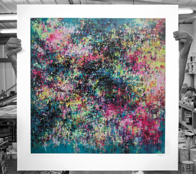 """Cenote"" new print by  Mr Jago"