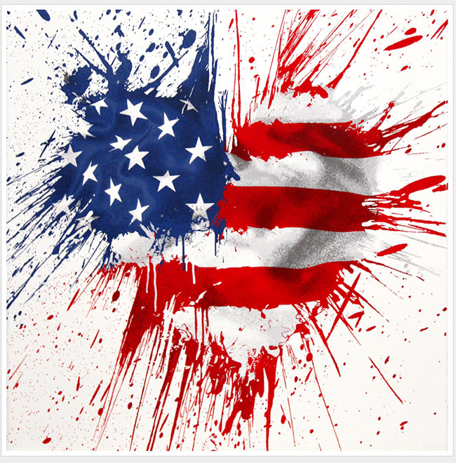 """Moment of Silence"" by Mr. Brainwash"
