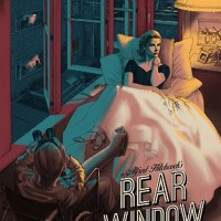 """Rear window"" new print by Jonathan Burton"