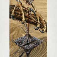 """Venin"" Art Print by Aaron Horkey"