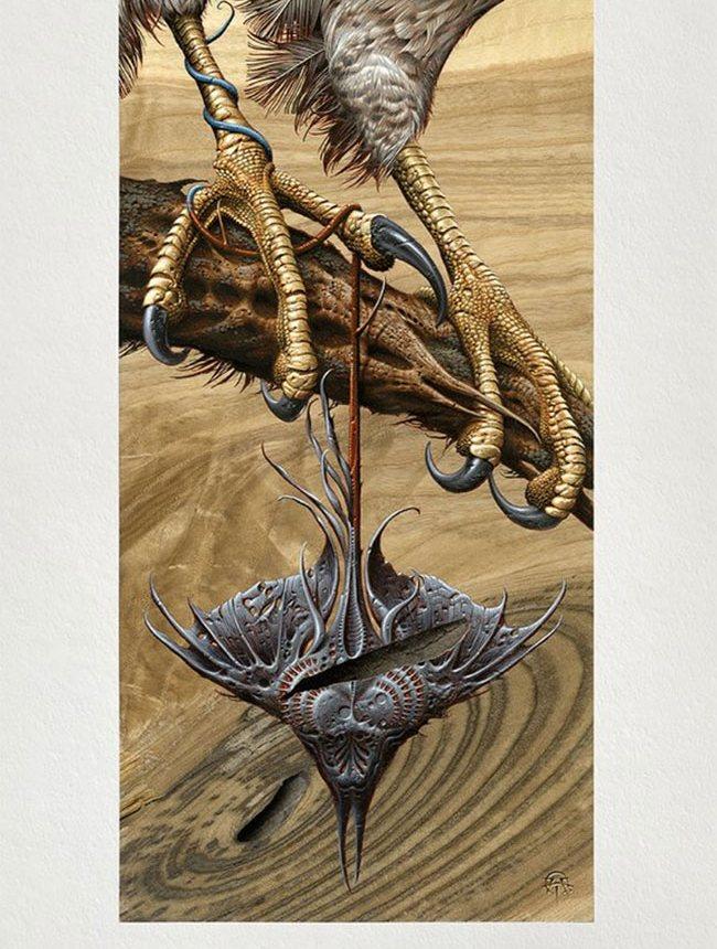 """Venin"" Art Print by Aaron Horkey"
