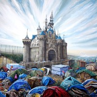 """""""Dismaland Calais"""" print by Jeff Gillette"""