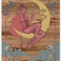 """Arianna"" print by Audrey Kawasaki"