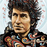 """Bob Dylan"" print by Zeb Love"