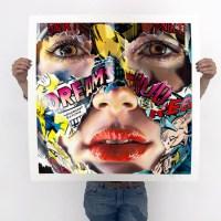 """La Cage; toi, moi et le rêve"" new print by Sandra Chevrier"