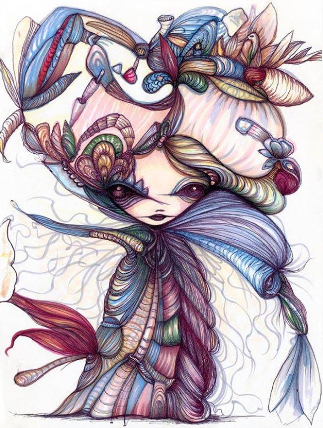 Winter Flower Sorceress