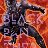 """BLACK PANTHER"" print by Martin Ansin"