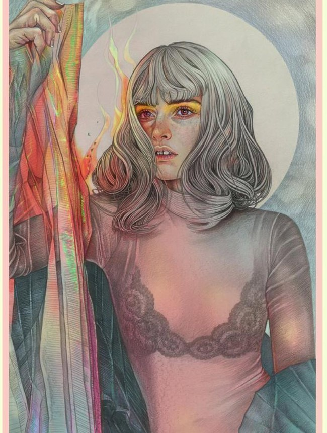 Resonate new print by Martine Johanna