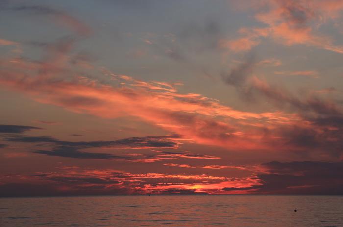 Sonnenuntergang auf Hiddensee am 21.06.2015