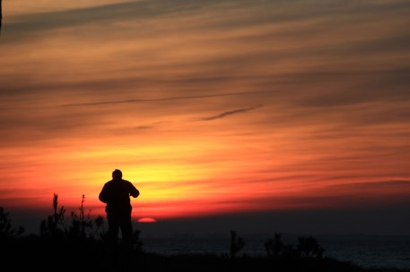 Sonnenuntergang am 30.12.2015