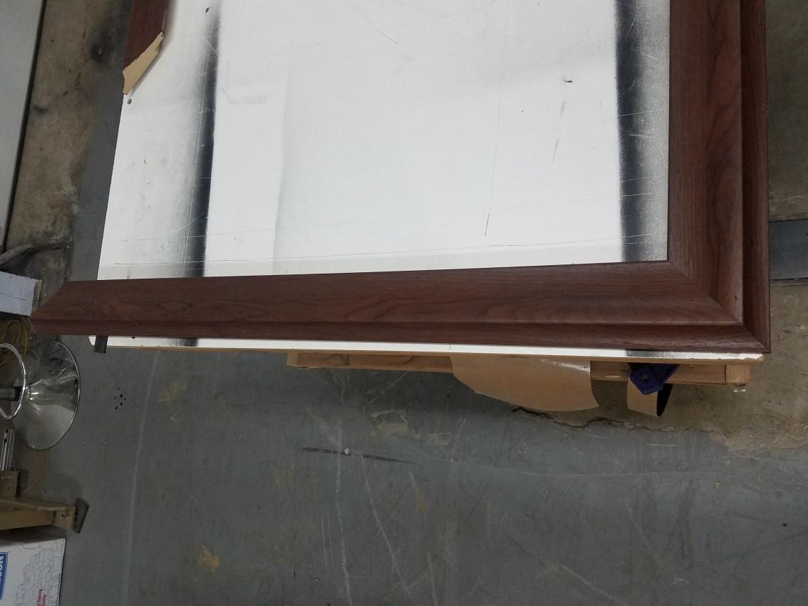 TV Frame Gluing