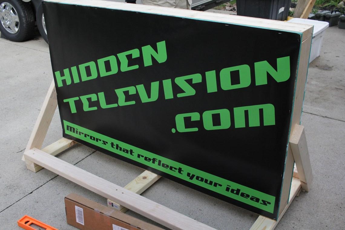 Hidden Television Crate