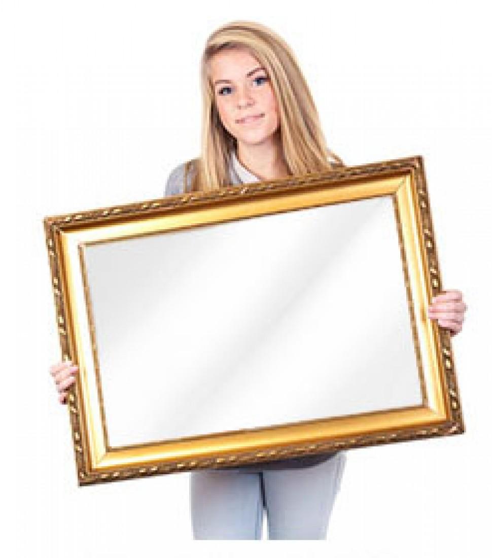 Frame Mirror TV Installation
