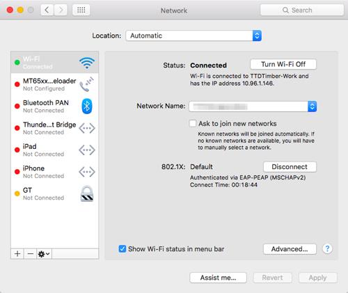 Network interface