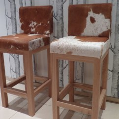 Cowhide Chairs Uk Oversized Rocking Chair Cushions Furniture Made To Order By Hide Stitch Based Stool 3