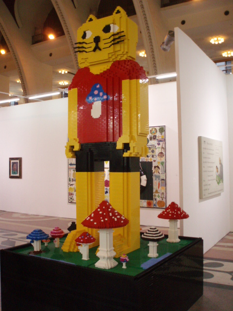 SHcontemporay2011 No3. -Lego Art 上海アートニュース Hidemi Shimura
