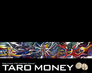 TARO MONEY 買いました 岡本太郎, アート ART Hidemi Shimura