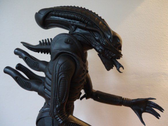 The 1991 Halcyon ALIEN model kit with rubber carapace removed.