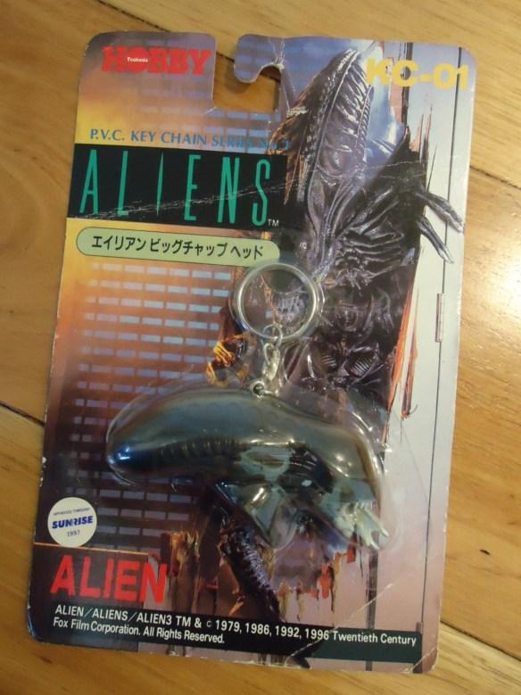 1997 Tsukuda Hobby ALIEN key chain.
