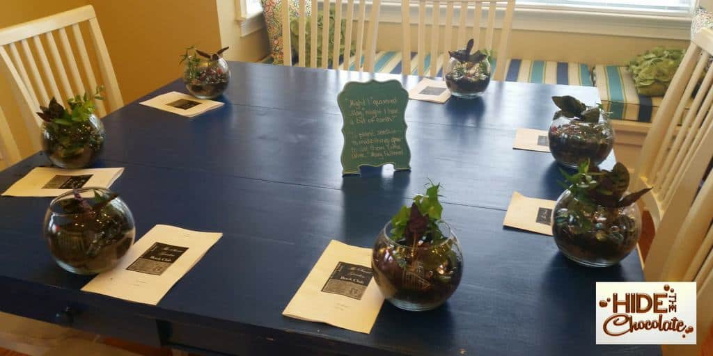 The Secret Garden Book Club Terrarium Activity