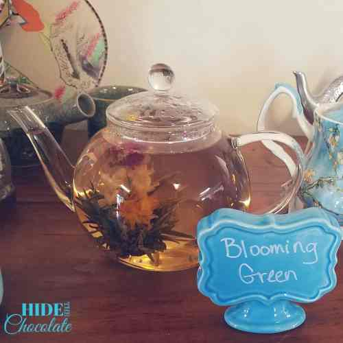 Poetry Teatime Blooming Teapot