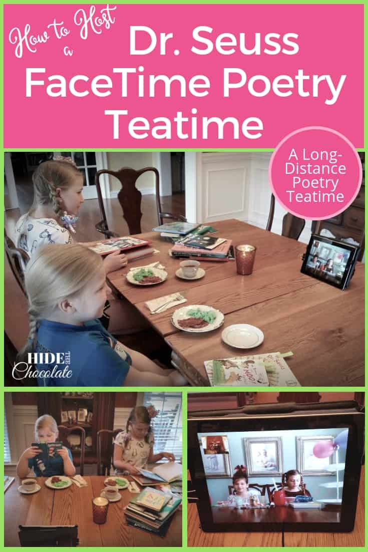 How to Host a Dr. Seuss FaceTime Teatime ~ A Long-Distance Poetry Teatime