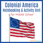 COLONIAL AMERICA NOTEBOOKING AND ACTIVITY UNIT