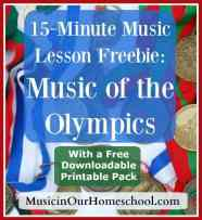 15-Minute-Music-Lesson-Freebie-on-Music-of-the-Olympics-with-Free-Printable-Pack
