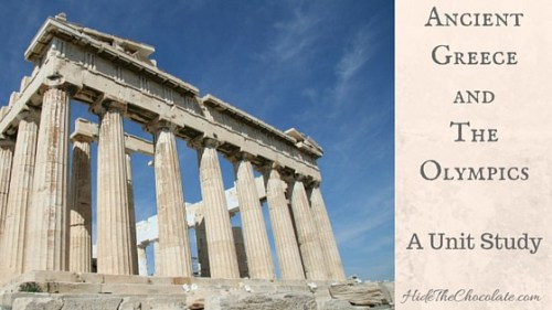 Ancient Greece and Olympic Unit Study