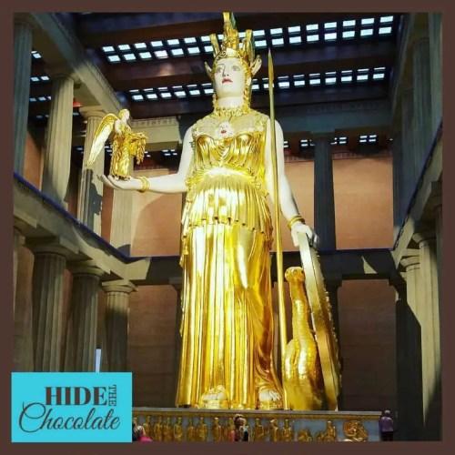 Athena Statute at the Parthenon