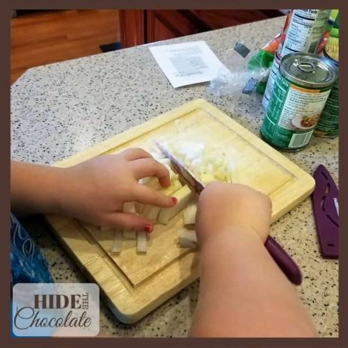 Tale of Despereaux Chopping Pototoes